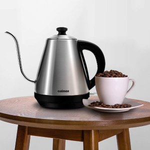 Cusimax 4-Cup Electric Kettle Gooseneck