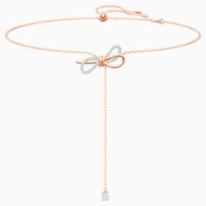 Swarovski蝴蝶结项链