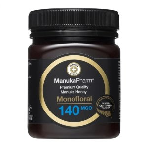Manuka Pharm140 MGO医用抗菌蜂蜜 250g