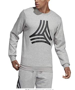 $39(原价$90) 码数全白菜价:Adidas男士印花卫衣特卖 秋天需要这一件
