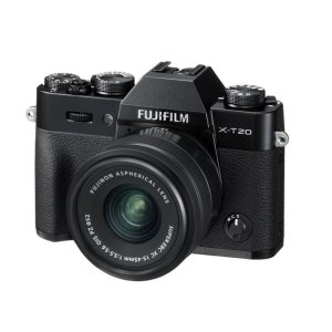$599Fujifilm X-T20 Mirrorless Digital Camera with 15-45mm Lens