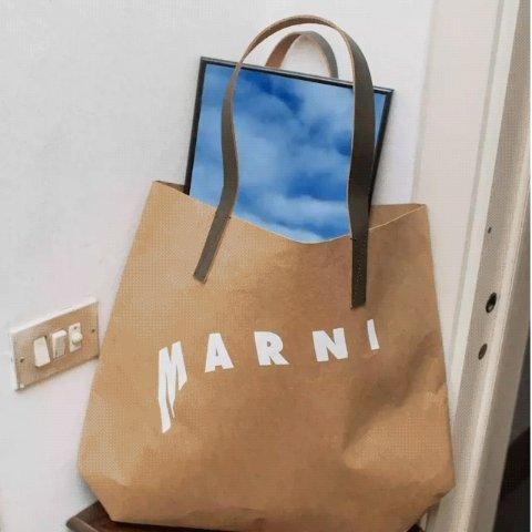 一律6折 €150收万茜同款T恤Marni 新款爆款强势闪促  娜比、周雨彤、刘雯都在背的经典王