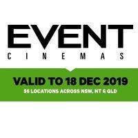 Event Cinemas 普通场次电影票热卖 全澳多地通用