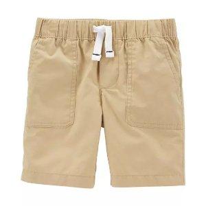 Carter's男婴提拉布面短裤