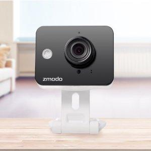 $64Zmodo Mini Wireless Cameras with Two-Way Audio (4-Pack)