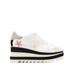 Stella McCartney星星厚底鞋