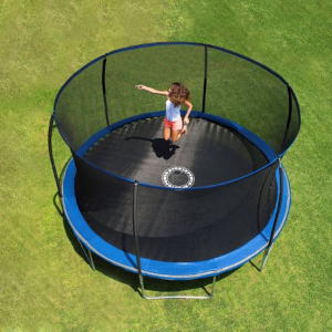 Bounce Pro 14-Foot Trampoline, with Enclosure