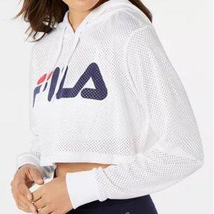 5折起FILA 新款男女时尚卫衣、运动服饰热卖