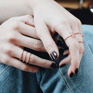 Astrid & Miyu多层戒指