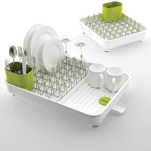 折后€50.69起 多款颜色可选Joseph Joseph 可伸缩餐具沥水架热促 随时扩大一倍空间