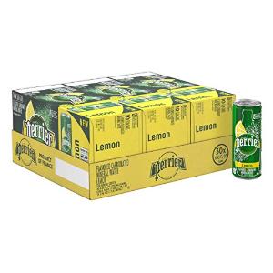 $17.54(原价$23.08) 一罐只需用$0.58闪购:Perrier 柠檬口味气泡矿泉水 250ml 30罐