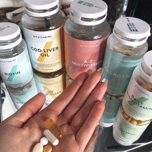 变相3.8折起 £7收头发护理软糖Myvitamins 7镑专区来袭 收褪黑素、胶原蛋白胶囊好时机
