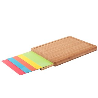 Sunjoy Cutting board with plastic mats
