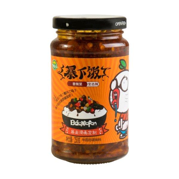 吉香居 暴下饭香辣菜 变态辣 250g