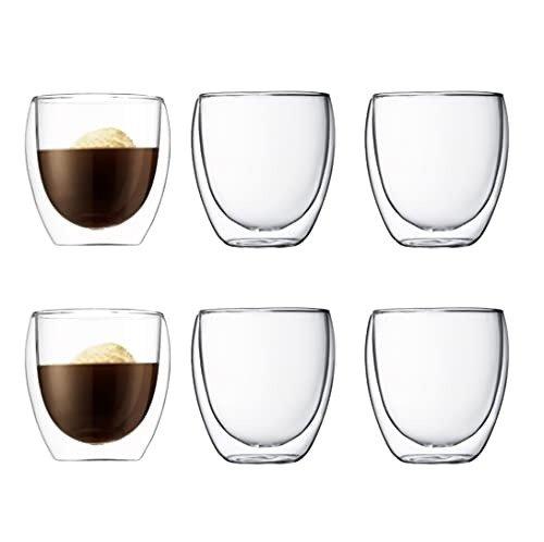 双层玻璃杯6个装