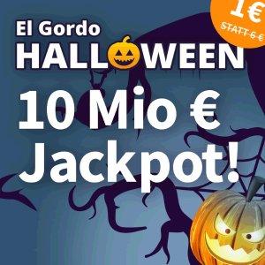 普通彩票140倍中奖概率 没有手续费最后一天:万圣节特别Lotto 奖金累计1000万欧元 首注只要€1