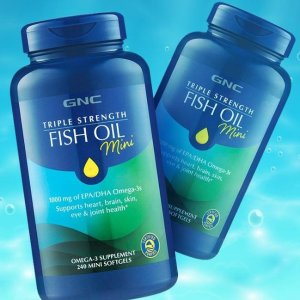 Up to 70% OffGNC Triple Strength Fish Oil 120 Softgels
