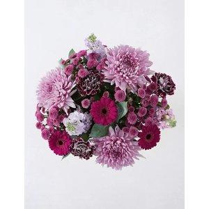 满£35立减£5紫水晶花束