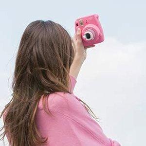 直降€20 多色可选Fujifilm Instax Mini 9 小清新文艺风拍立得打折啦