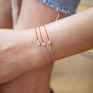 全场9折 本命年必备!低至£252收钻石小红绳Redline 新年必入开运小红绳热卖