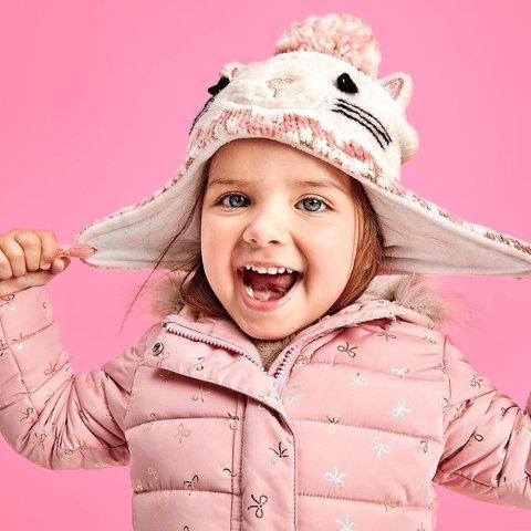 3-5折包邮 保暖外套$11.98黑五价:The Children's Place 儿童冬季外套及配件热卖
