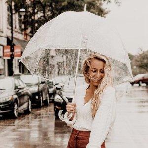 全场7折+包邮Totes 全场雨伞、雨具大促 $13.3收网红泡泡伞
