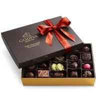 Godiva 黑巧克力什锦礼物盒 27颗