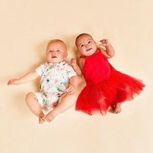 一口价2件$39 3件$55折扣升级:BONDS 超可爱婴儿连体衣再降价 宝宝喜欢妈妈放心