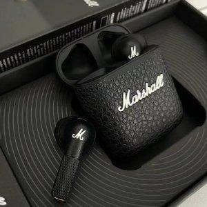 售价€129 入手真香!新品:Marshall Minor III蓝牙耳机 音质震撼 美式复古设计