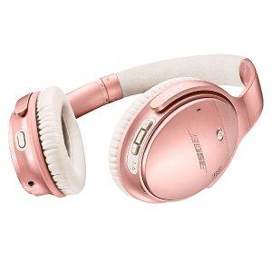 $299.95 (原价$349.95)Bose QuietComfort 35 II 无线降噪耳机 玫瑰金