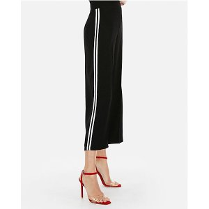 ExpressHigh Waisted Side Stripe Culottes