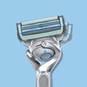 现价€0(原价€11.95)不花钱得Gillette吉列 剃须刀免费试用 剃刀中的战斗机 型男必备