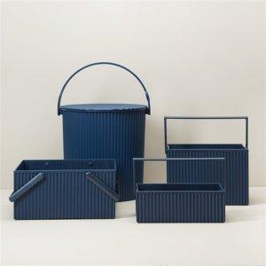 小号蓝色收纳盒