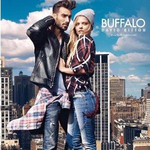 6折 $27起 简约美式风情Buffalojeans 精选男女短袖特卖 时尚随性