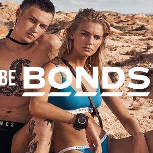 7折Bonds 全场男女内衣裤,袜子热卖