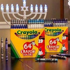 3折起 120件套礼盒$19.99开学季:Crayola 儿童涂色彩笔、蜡笔等绘画工具热卖
