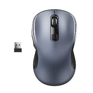WisFox Wireless Computer Mouse, 2.4G Wireless Ergonomic Mouse