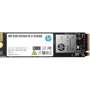 HP EX920 M.2 256GB PCIe 3.0 x4 NVMe 3D TLC NAND SSD
