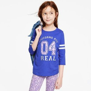 Tee & Polo for $4+, Tops & Leggings  for $5+OshKosh BGosh Doorbuster Sale + Free Shipping on All Orders