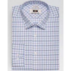 89d10af1aeadb 3 for  99.99Joseph Abboud Blue   Beige Check Dress Shirt - Men s Classic  Fit