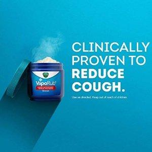 $5.44 有效通鼻塞止咳Vicks VapoRub 抗感冒舒缓薄荷膏 50g