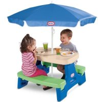 Little Tikes 户外餐桌椅,可坐4个孩子