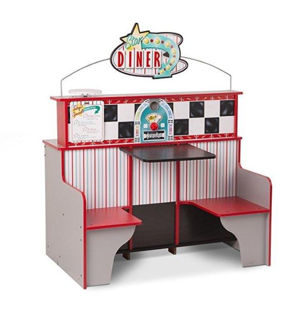 餐厅厨房双面大型玩具