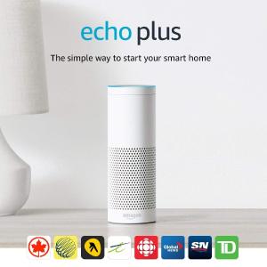 $139.99(原价$169.99)Echo Plus 智能语音管家集成HUB功能+ 飞利浦智能灯泡