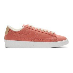 Nike珊瑚粉休闲鞋