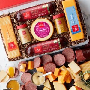 低至2.5折 $3收9块巧克力礼盒Hickory Farms 芝士、香肠、巧克力等礼盒促销