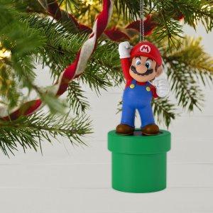 HallmarkNintendo Super Mario™ Mario Ornament