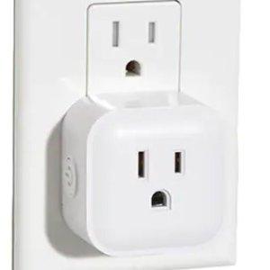 $13.99(原价$20), 赠品价值$39Bright Wi-Fi 智能插头 再送3个智能灯泡