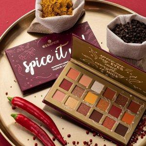 上新:Essence 最新Spice It Up! 18色眼影盘西柚色