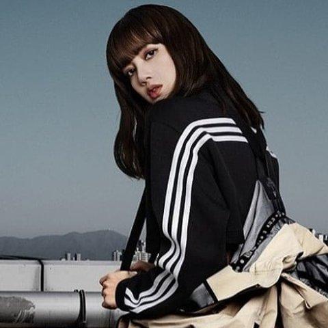 低至5折+免邮adidas 女款运动服饰促销 Lisa同款外套$42收